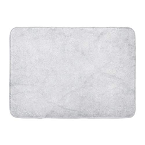Rongpona Fußmatten Bad Teppiche Outdoor/Indoor Fußmatte grau Boden Marmor Wand Licht Muster abstrakt Stein Bad Badezimmer Dekor Teppich Badematte