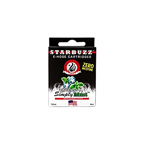 STARBUZZ Cartouches E-HOSE STARBUZZ - Goût - Simply Mint