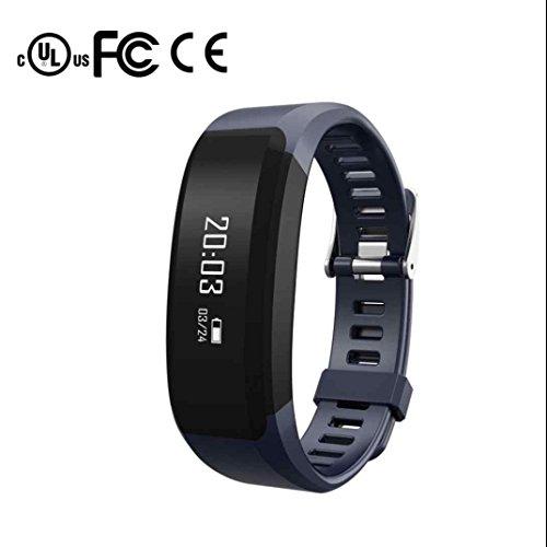 Fitness Tracker Smart Armband Bluetooth mit Schrittzähler Pulsuhren Schlafmonitor Kalorienzähler Call Benachrichtigung Push Aktivitäten Tracker für Android/sony/apple/ios