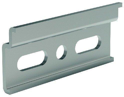 Schrank Aufhänger (2 Stück - GedoTec® Profi Oberschrank Aufhängeschiene Trägerplatte HERKULA für Schrank-Aufhänger | Stahl verzinkt | Länge 60 mm | Wand-Schiene zum Schrauben |Markenqualität für Ihren Wohnbereich)
