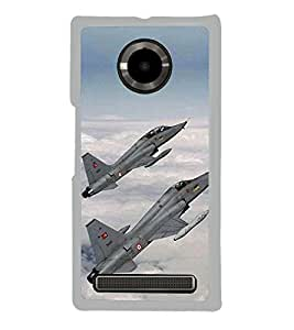 Fighter Jets 2D Hard Polycarbonate Designer Back Case Cover for YU Yuphoria :: YU Yuphoria YU5010