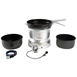 414W0GiiXpL. SS300  - Trangia 25 Non-Stick Cookset With Spirit Burner