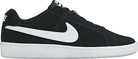 Nike Court Royale Suede - Sneakers Basses - Homme, Multicolore (Black / White), 42 EU