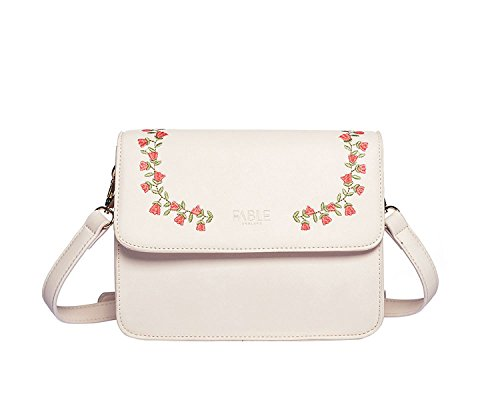 Bubble And Bling Boutique - Borsa a tracolla donna Ivory