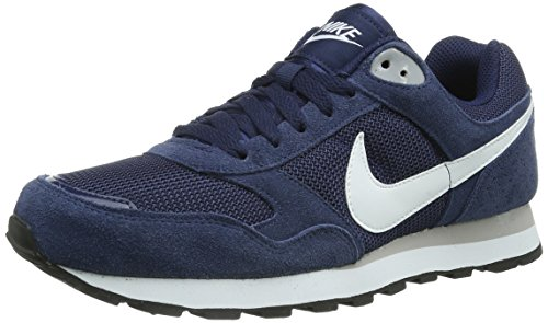 Nike Herren MD Runner TXT SP15 Turnschuhe, Blau (Midnight Navy/White-Wolf Grey), 39 EU