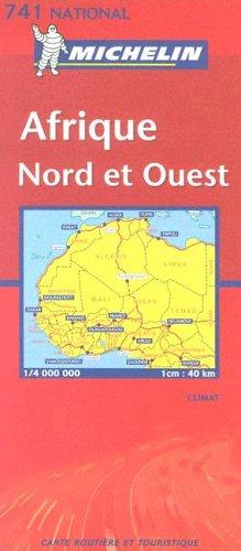 Carte routière : Afrique Nord et Ouest, N° 11741