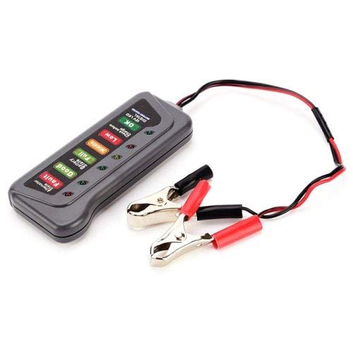 HaiMa Elektrofahrzeug Batterie-Antriebe Motorrad Batterie Kapazität Test Tabelle 12V Electric Meter-Slate Gray