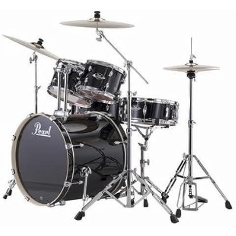 Pearl Export exx725z/C Drum Set Jet Black # 3122/10/12/16/rullante