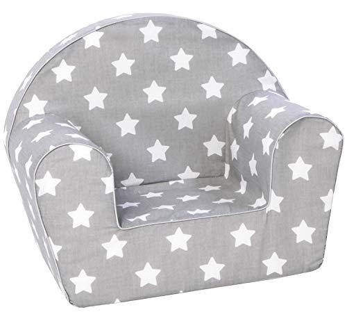 KNORRTOYS.COM 68341 Knorrtoys 68341-Kindersessel-Stars White Kindersessel