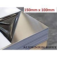 1.5mm Aluminium Sheet 1050 H14 Grade Various Sizes With Protective Coat 100 x 100mm