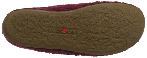 Haflinger Damen Everest Soho Pantoffeln Pink (Fuchsia)