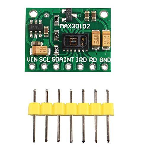 DollaTek Sensore di frequenza cardiaca Fare clic su Monitor sensore MAX30102 per Arduino
