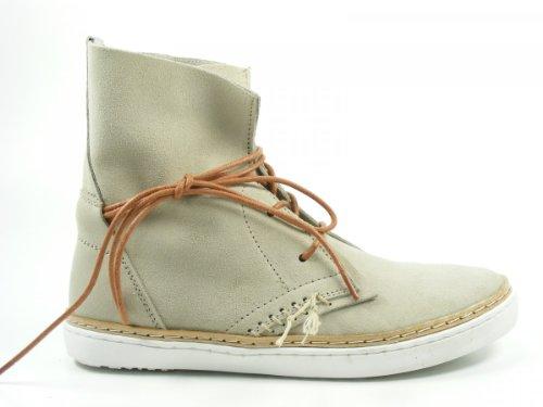 SPM Schuhe Damen Stiefeletten Schnür Boots Harta 60666232 Beige