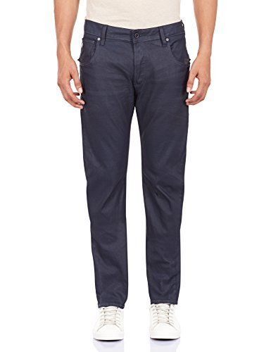 Preisvergleich Produktbild Jeans G STAR Arc Zip 3D Slim Blue Pintt Stretch Denim Dark Aged - W33/L32, Bleu