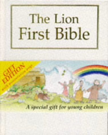 The Lion First Bible: White Gift Edition (First Look)