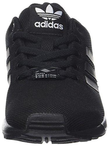 new style 781f5 ffb9c adidas Zx Flux J, Scarpe da Ginnastica Basse Unisex-Bambini, Nero (Core  Black Core Black Core Black 0), 39 1 3 EU