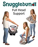 Snugglebundl- The Baby Wrap with handles. (Poppy Red)