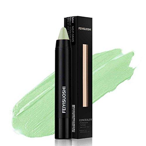 Babysbreath Gesicht Lippe Make-Up Makel Concealer Creme Basis Palette Stift Bleistift Stick 12 Farben 5 # Mintgrün (Stift Concealer Creme)