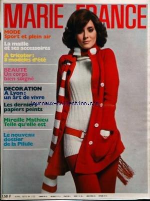 MARIE FRANCE [No 170] du 01/04/1970