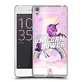 Head Case Designs Boisson Énergisante Pouvoir De Licorne! Coque en Gel Doux Compatible avec Sony Xperia E5