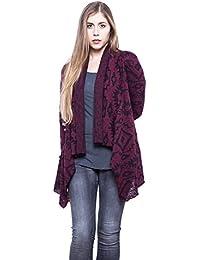 Abbino Xena Chaquetas de Punto Cardigans para Mujer - Hecho en ITALIA - 3  Colores - Verano Otoño Invierno… 4002a9d47340