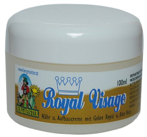 Hautpflege Creme mit Gelee Royal, Jojobaöl und Aloe Vera 100 ml von HF