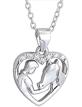 Pferdeschnickschnack Halskette