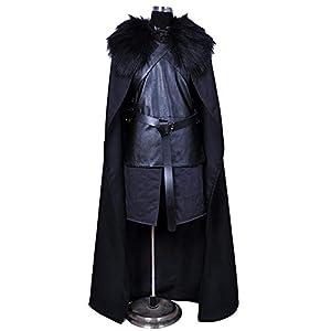COSPLA Juego De Tronos Jon Crow Cosplay Disfraz De Lycra Medias Siamesas Tight 3D Halloween Disfraces De Disfraces para… 10