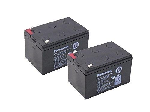 Kompatibler Accu Rollstuhl Elektromobil Invacare Colibri 6 km/h 24V 2x 15Ah AGM