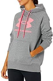 Under Armour womens Rival Fleece Logo Hoodie Hooded Sweatshirt