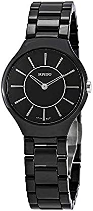 Rado Men Analogue Watch with Black Dial Analogue