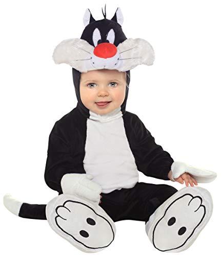Rubie's it881542-6/12 - silvestro costume, taglia 6/12 mesi