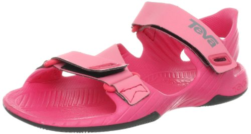 Teva Barracuda Y'S - K, Sandales mixte enfant Rose (Paradise Pink)