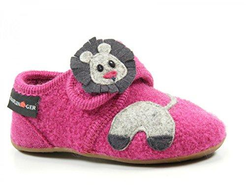 Haflinger Everest Lion, Chaussons bas mixte enfant pink