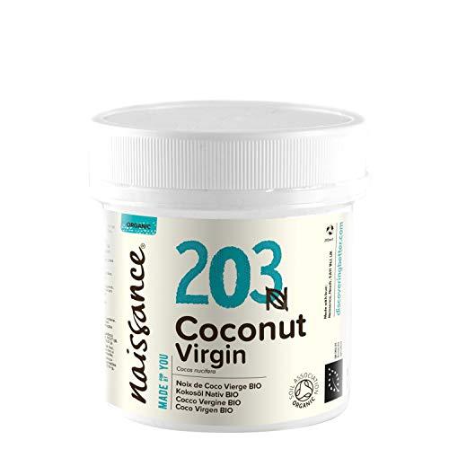 Naissance Coco Virgen BIO Sólido - Aceite Vegetal Prensado en Frío 100{d28d731048ccb9dde8643f04d3ec2bf43d5cd809c80c856f1a5ffe1c33cf6ad3} Puro - Certificado Ecológico - 100g