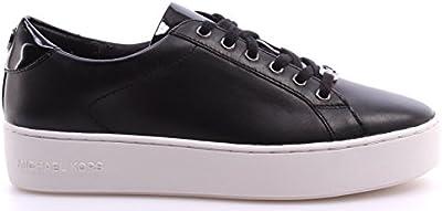 MICHAEL KORS bajas zapatillas de deporte con ZAPATILLAS DE AMAPOLA 43F6POFS3L pieles