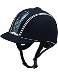Matchmakers Harry Hall Legend Crystal Plus - Casco de hípica negro negro Talla:56 cm