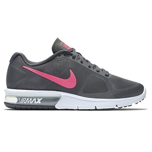 Womens Air Max Sequent Running Shoes - Dark Grey