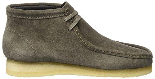 Clarks Boots Wallabee Boot Grigio (Grey Suede) Visita Aclaramiento Nueva 8ypdP0