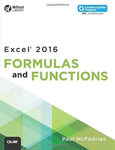 PDF] Download Excel 2016 Formulas and Functions (includes