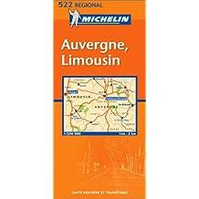 Carte routière : Auvergne Limousin, N° 11522