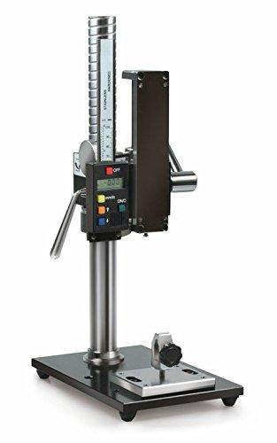 Manueller Prüfstand mit digitaler Längenmesseinheit [Sauter TVP-L] für Kraftmessungen -