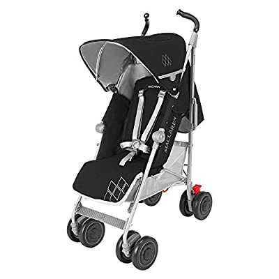 Maclaren Techno XT Pushchairs (Black/Silver) - 2016 Range by Maclaren