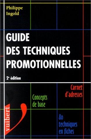 Guide des techniques promotionnelles