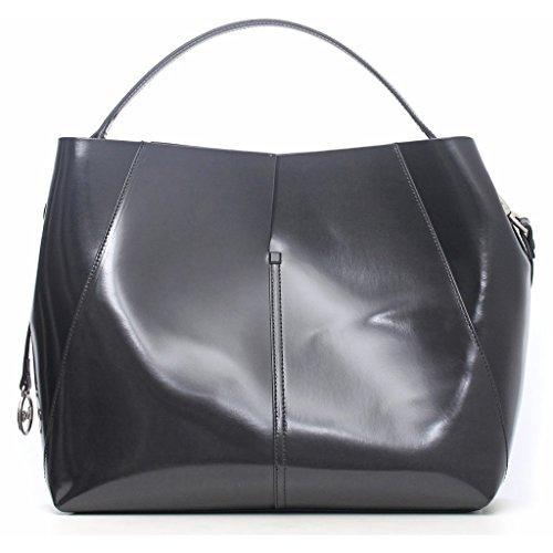Nero Giardini borsa donna A643109D 100 nero nuova collezione autunno inverno 2016 2017