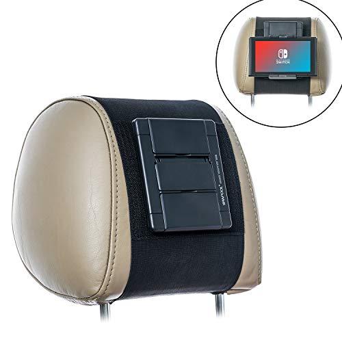 Wanpool - Supporto per poggiatesta auto, compatibile con Nintendo Switch & iPad Air, iPad Mini e altri tablet