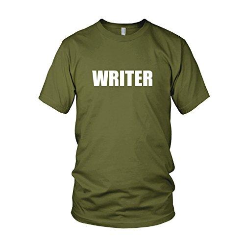 Writer - Herren T-Shirt Army
