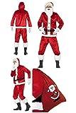 Fancy Dress World 46751 - Disfraz de Papá Noel para Hombre y Adulto, diseño de Papá Noel