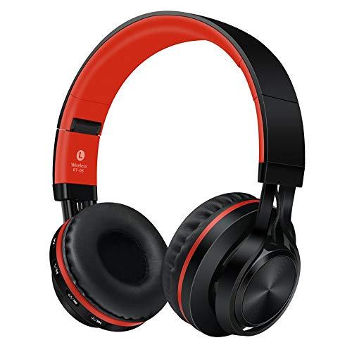 Preisvergleich Produktbild KNOSSOS Sound Intone Wireless Bluetooth Headphones Foldable with Microphone BT-06