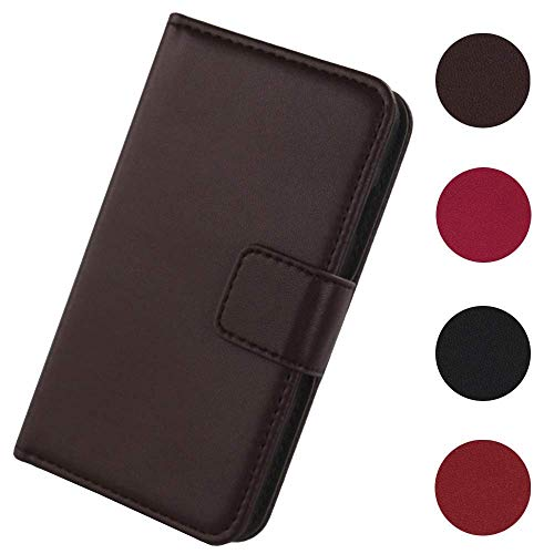 Lankashi Flip Premium Echt Leder Tasche Hülle Für Leagoo Z7 4G 5